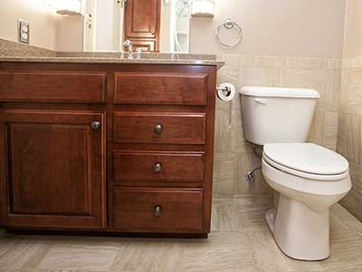 Finchley bathroom remodel in Louisivlle