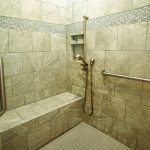 Aging in place bathroom remodel in Louisville