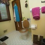 Yocumshire before bathroom remodel in Louisville