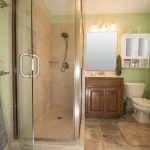 Enlarged shower in Louisville