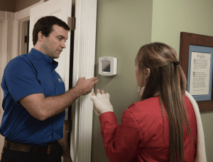 thermostat and Maeser tech